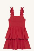 LIYA LAYER DRESS in colour LOLLIPOP