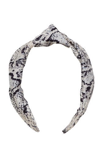 SNAKE KNOT HEADBAND in colour ANTELOPE