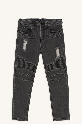 OLI ZIP JEAN in colour METEORITE