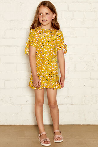 MADDI SUNDRESS in colour YOLK YELLOW