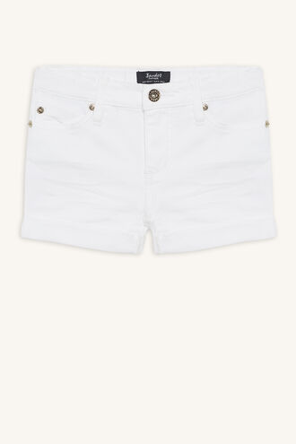 TORI DENIM SHORT in colour SNOW WHITE