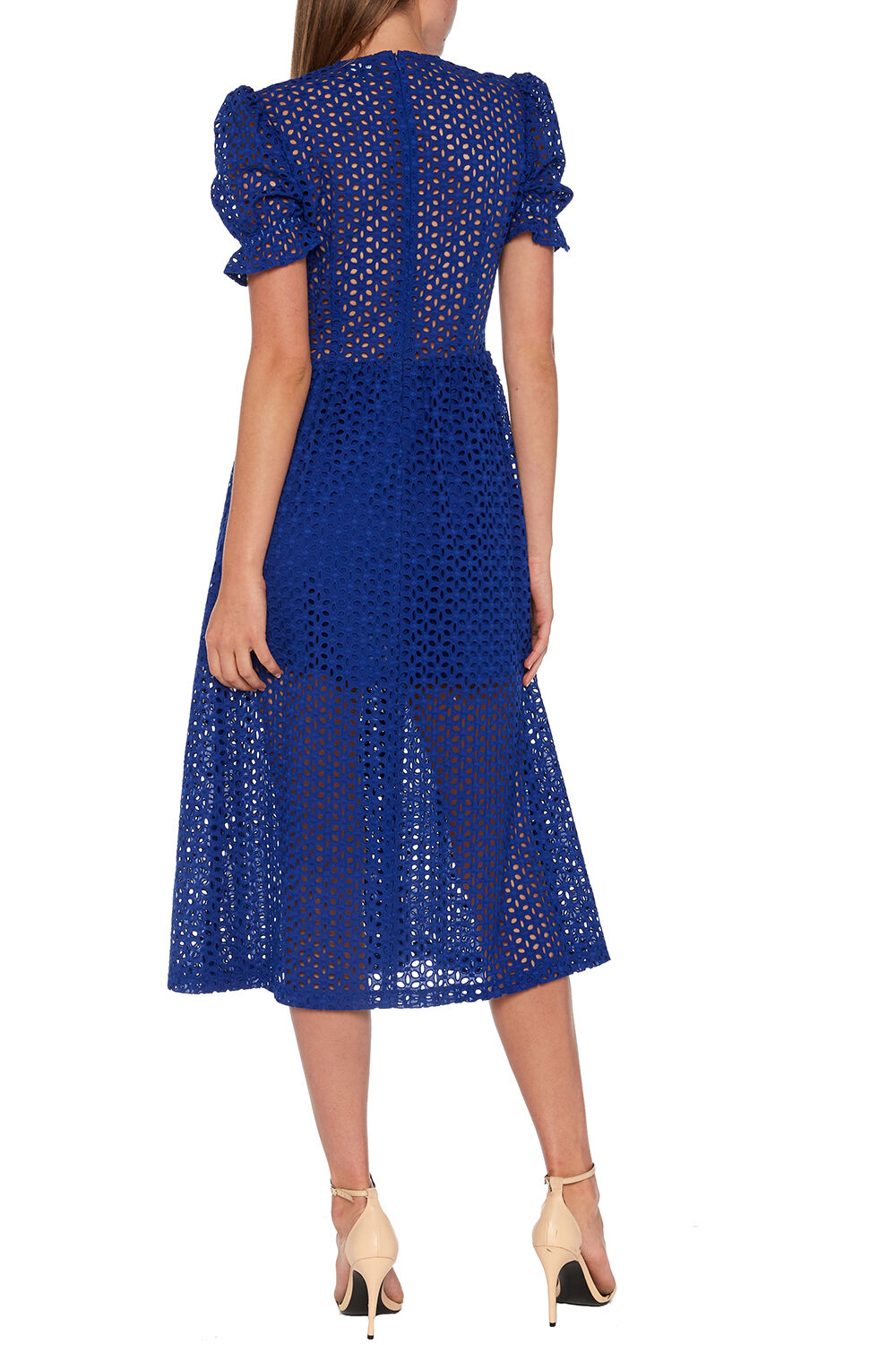 JORDAN LACE DRESS in colour SURF THE WEB
