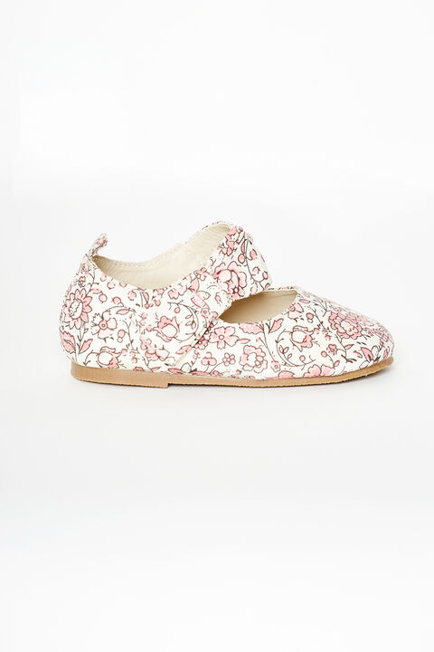PINK DITSY TODDLER SHOE in colour PARADISE PINK