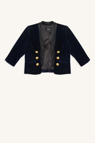 BRAT PACK JACKET in colour DRESS BLUES