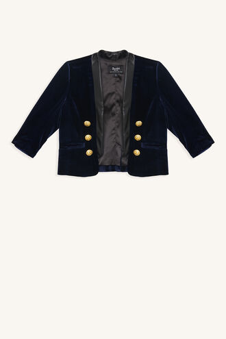 BRAT PACK JACKET in colour MARITIME BLUE