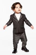 BABY BOY chintz suit pant in colour CASTLEROCK