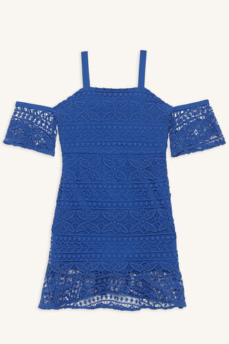 LUCILLE DRESS in colour SURF THE WEB