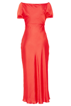IRINA MIDI DRESS in colour FIESTA