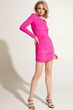 ELENA DRESS in colour BEETROOT PURPLE