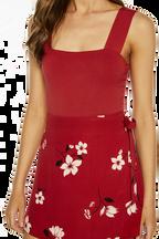 MIMI BODYSUIT in colour AMERICAN BEAUTY