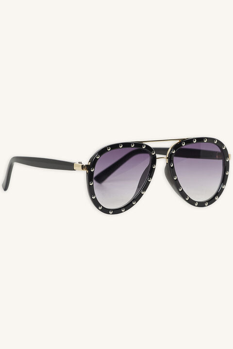 AUBREY STUDDED SUNGLASSES in colour METEORITE