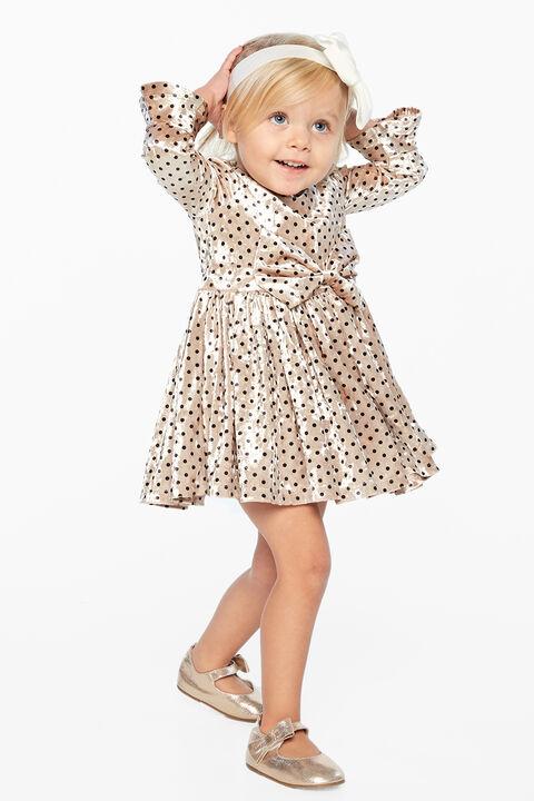 LANA BOWIE DRESS in colour CLOUD DANCER
