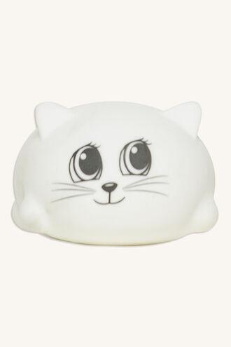 SQUIDGY CAT in colour BRIGHT WHITE
