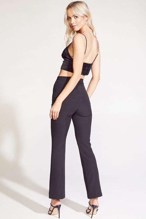 EVELYN TOP in colour CAVIAR