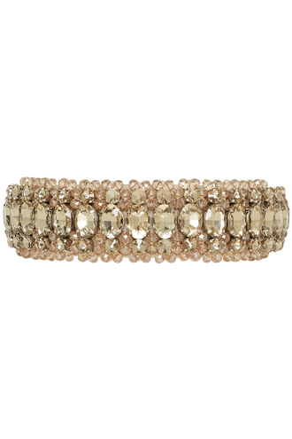 FOREVER JEWEL HEADBAND in colour CHAMPAGNE BEIGE