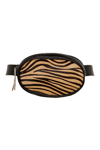 OVAL BELT BAG in colour ANTELOPE