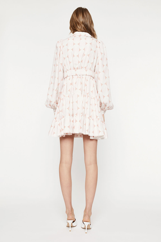 THE MINI SHIRT DRESS in colour SKYWAY