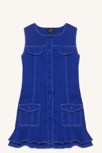 CHASE DENIM DRESS in colour CLASSIC BLUE