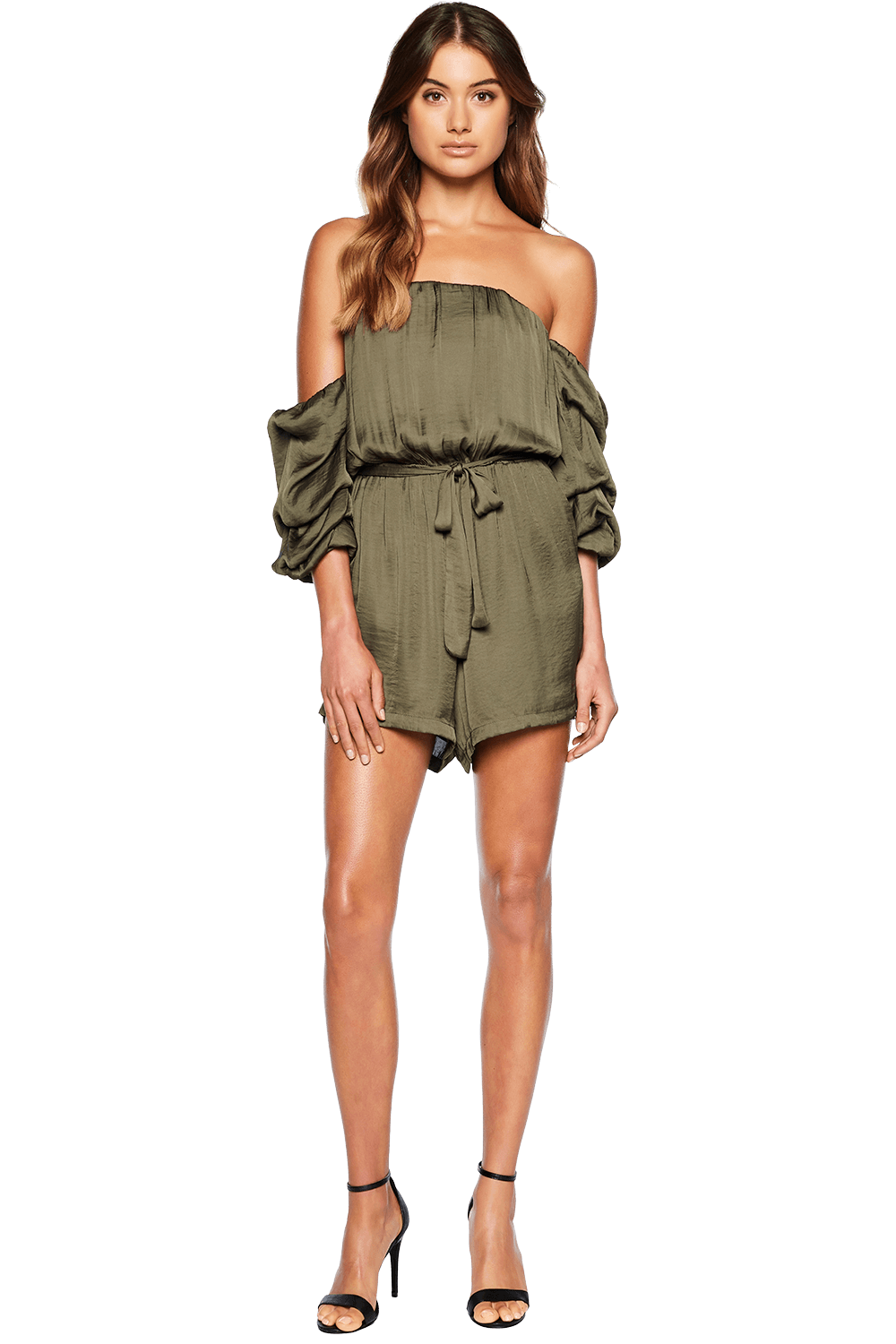 CAUGHT SLEEVE PLAYSUIT in colour SEA TURTLE