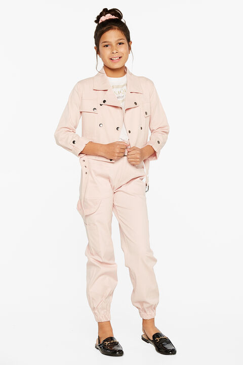 BATES UTILITY JACKET in colour CAMEO PINK
