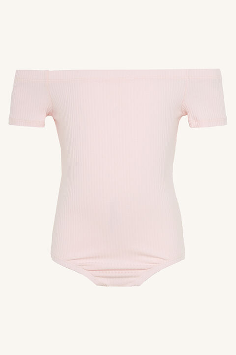 CIARA BODYSUIT in colour SHRINKING VIOLET