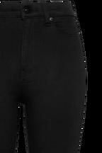 KHLOE HI CROP JEAN in colour CAVIAR