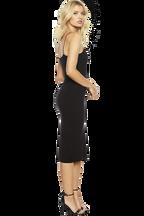 SONIA DRESS in colour CAVIAR
