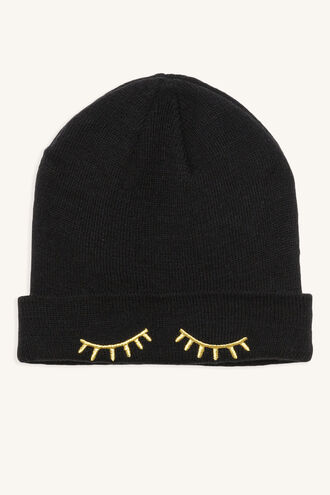 LASHES BEANIE in colour METEORITE