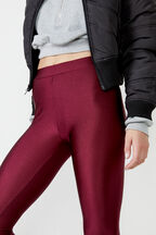 ROLLER LEGGING  in colour BURGUNDY