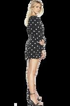 GAVRIELA PLAYSUIT in colour JET BLACK