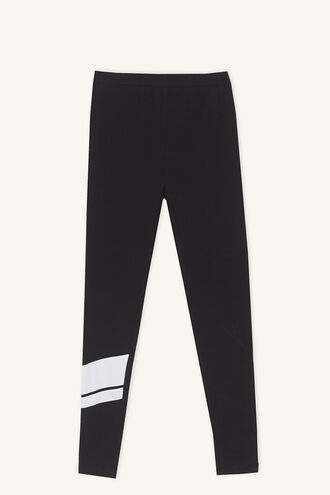 CASS SPORTS LEGGING in colour JET BLACK