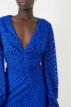 ALEXA DRESS in colour BRIGHT COBALT