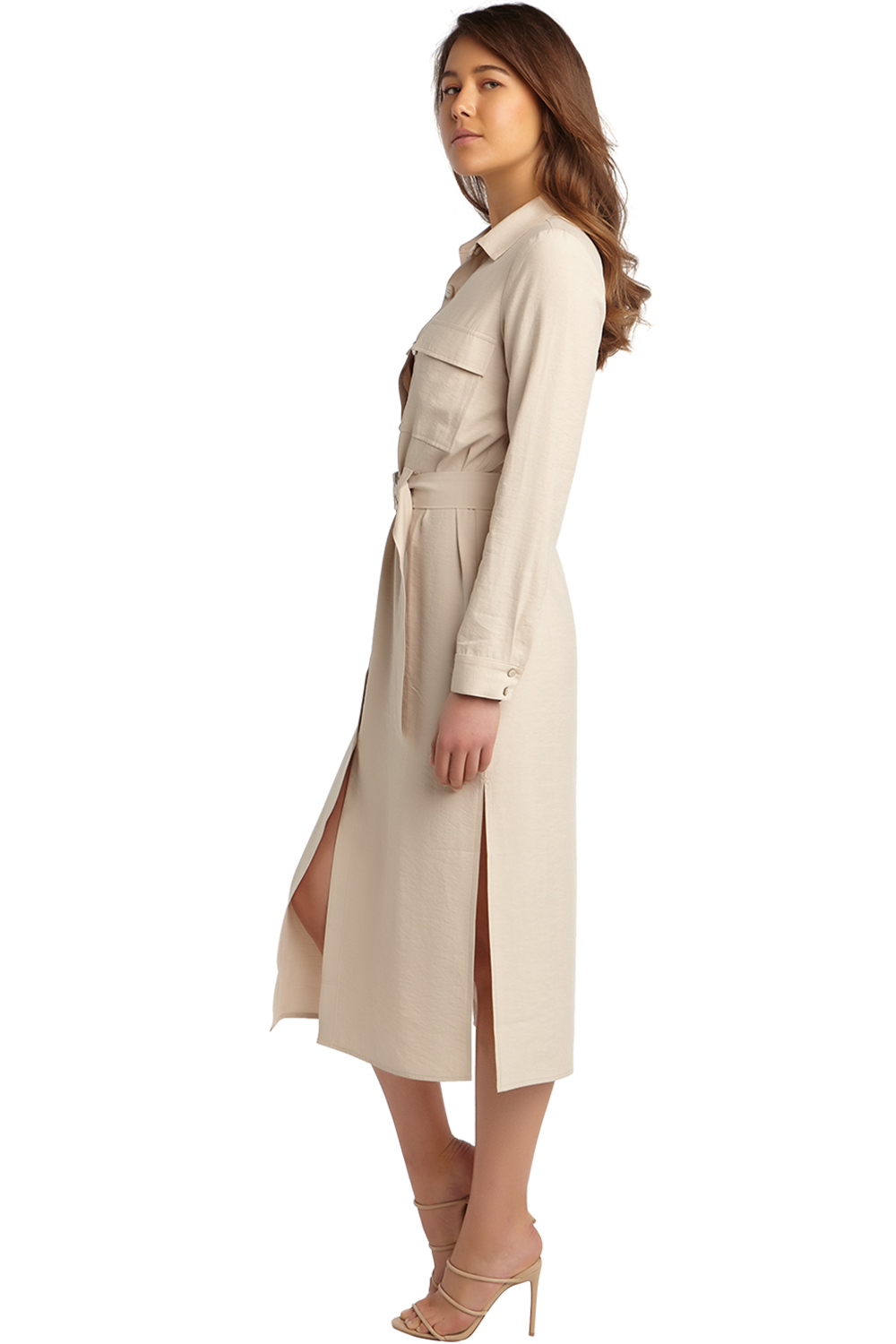 JANA SHIRT DRESS in colour MOONLIGHT