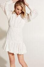 MAISY MINI DRESS in colour CLOUD DANCER