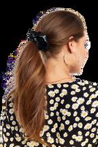 SCRUNCHIE HAIR TIE in colour METEORITE