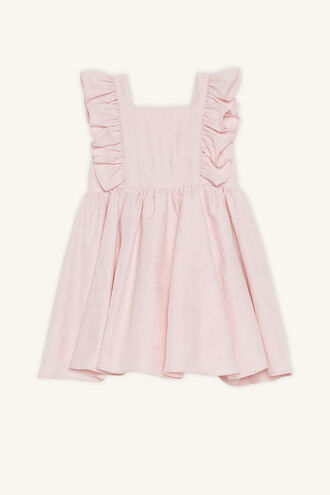 ESTELLA BOW DRESS in colour POTPOURRI