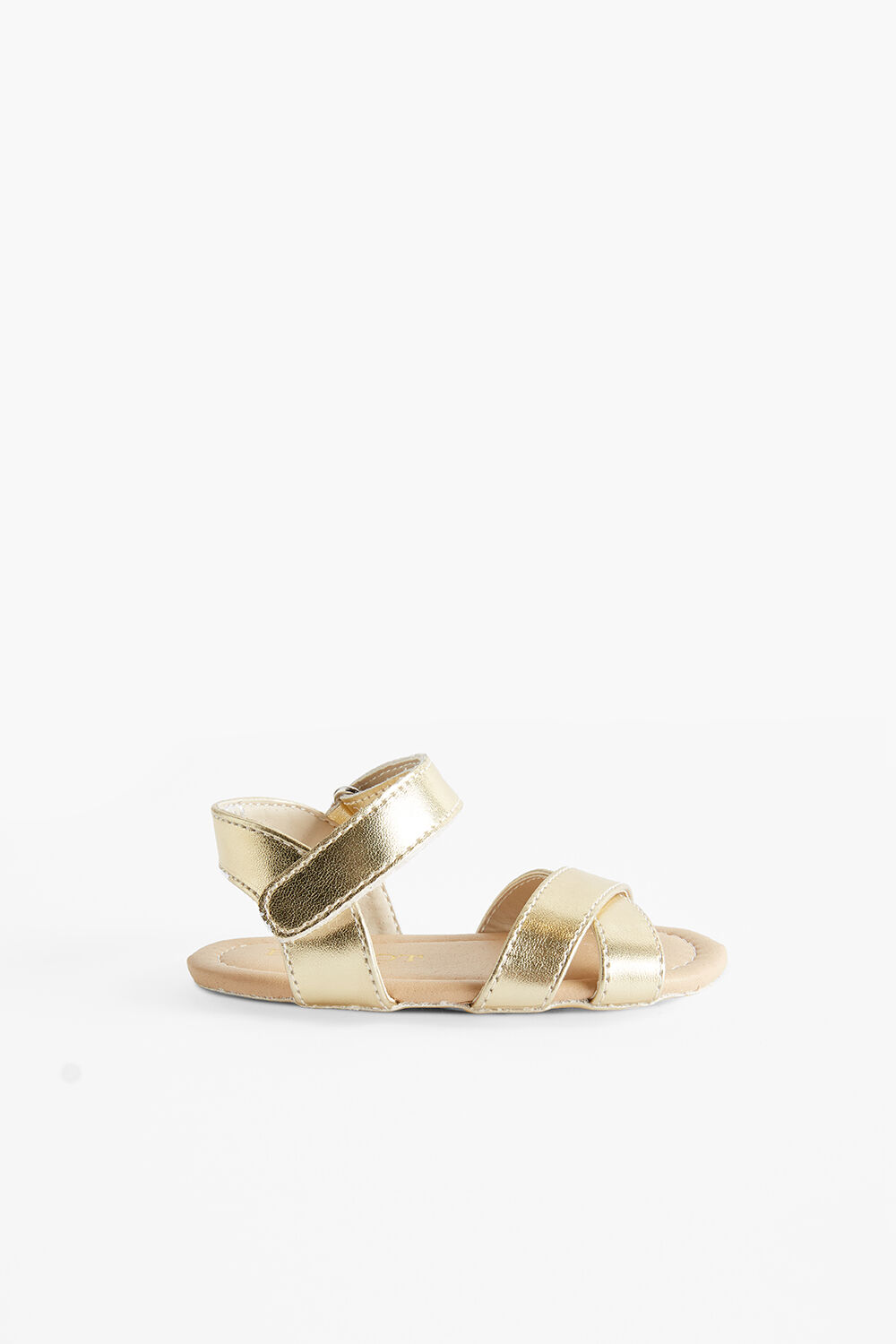 BABY GOLDIE SANDAL in colour GOLD EARTH