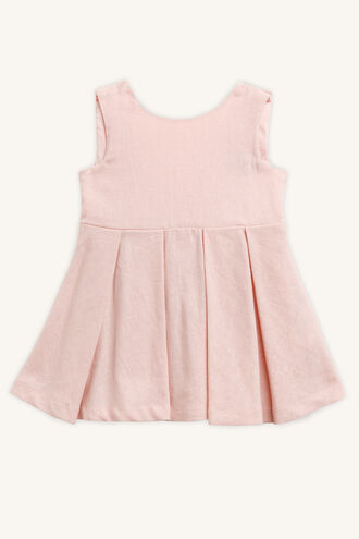 MAVIS SUN DRESS in colour MISTY ROSE