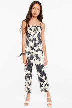 TWEEN GIRL KAIA JUMPSUIT in colour MOOD INDIGO
