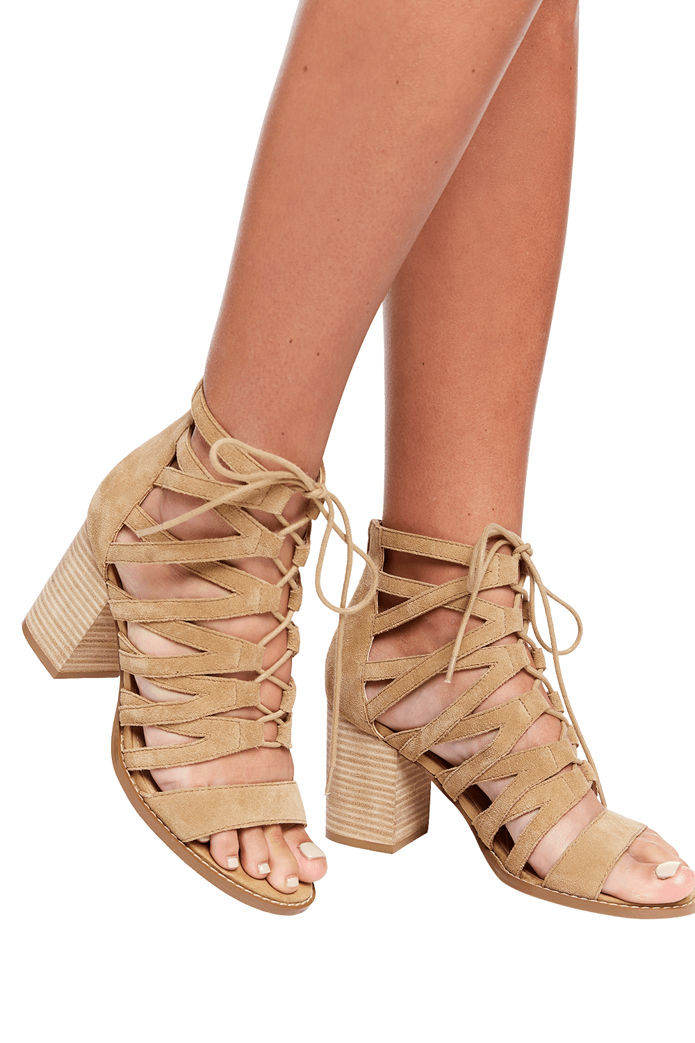 AZALEA HEEL 2.0 in colour BEIGE
