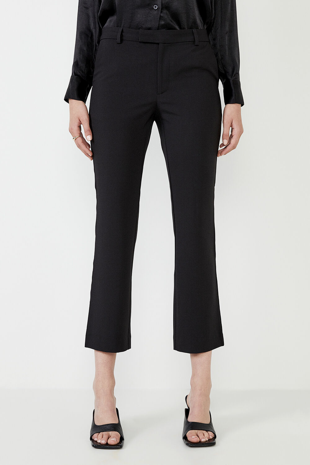 LEIA TROUSER  in colour CAVIAR