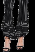 ETTA FRILL CULOTTE in colour CAVIAR