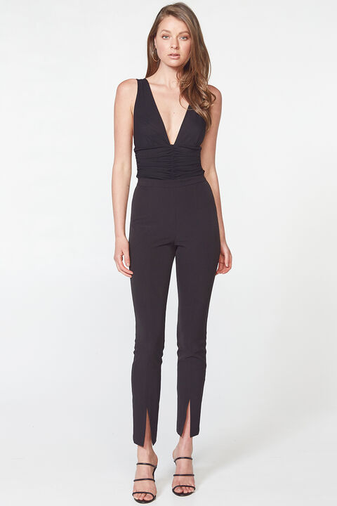 PAMELA BODYSUIT in colour CAVIAR