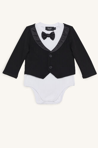 LITTLE TUX GROW in colour JET BLACK