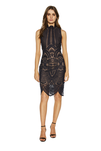 ALICE LACE DRESS in colour ECLIPSE