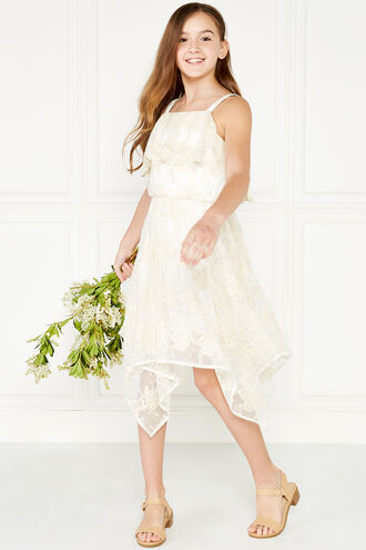 ORIEL HANKY DRESS in colour FROSTED ALMOND