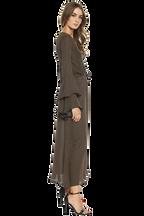 LORETTA MAXI DRESS in colour MIDNIGHT NAVY
