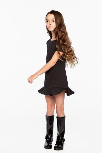 LAURA MINI DRESS in colour CAVIAR