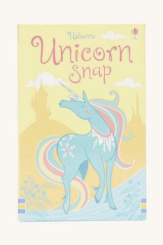 UNICORN SNAP in colour BRIGHT WHITE