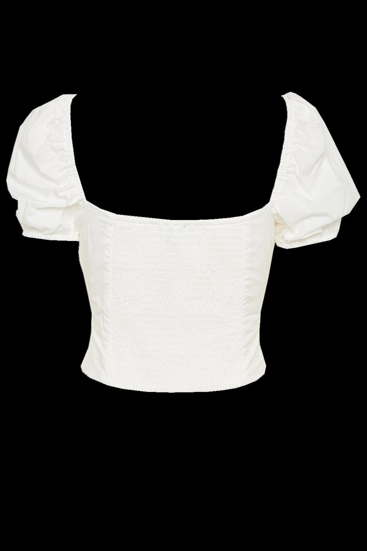 CHRISTIE TOP in colour BRIGHT WHITE